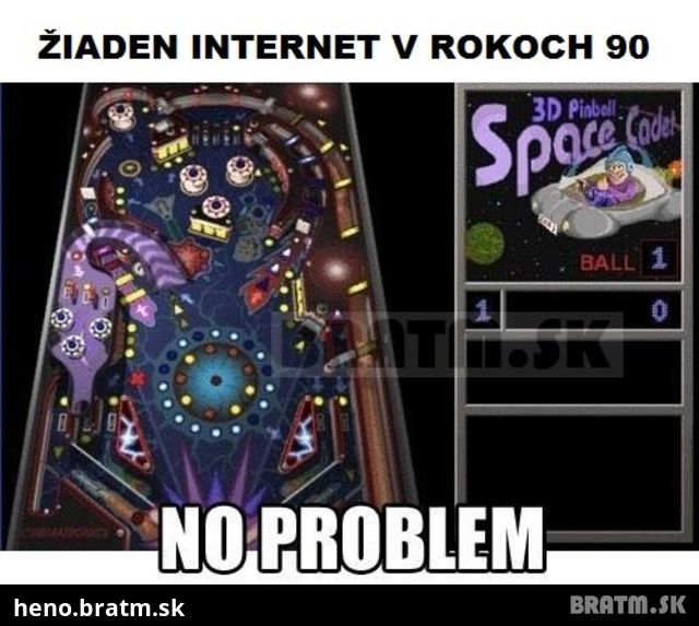 Žiaden internet? :D no problem