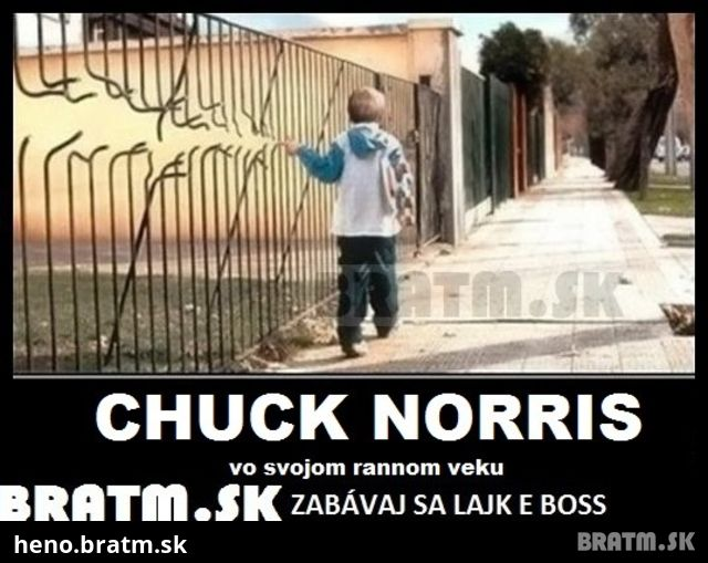 Chuck Norris Vo Svojom Rannom Veku D Bratm Sk