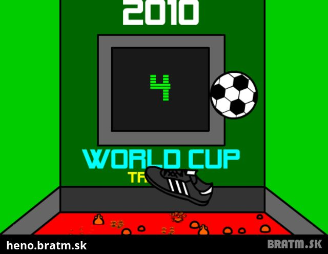 World Cup Soccer 2010: Training