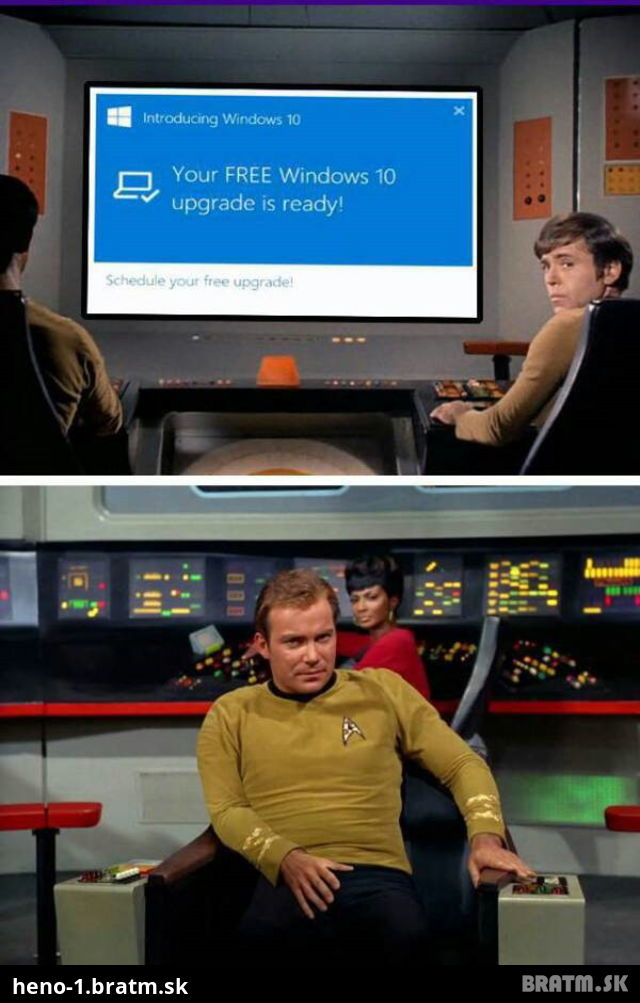 Win 10 vs startrek :D