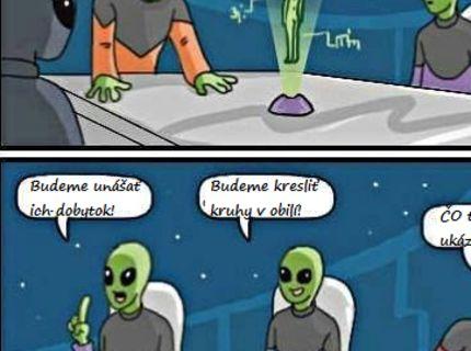 Mimozemšťania a ich plány :D