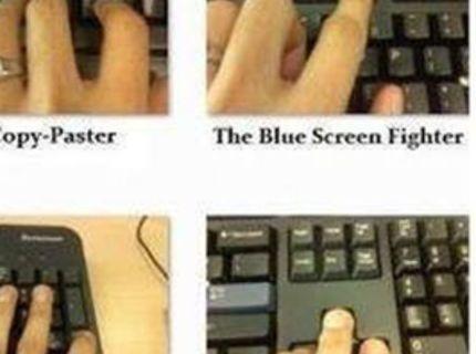Ako používajú klávesnicu naše mamy :D
