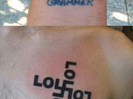 Foto séria najhorších tetovani a ich korektúry Cast 2.  :-D