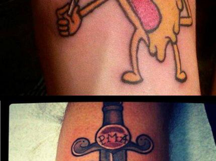 Pizza tetovania! Sialenci bez zabran v tejto sérii foto :) #3