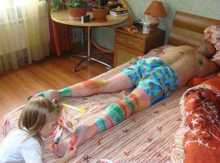 8- Takto to dopadne, keď sa nevenujete svojmu dieťaťu :D :D :D :D :D :D