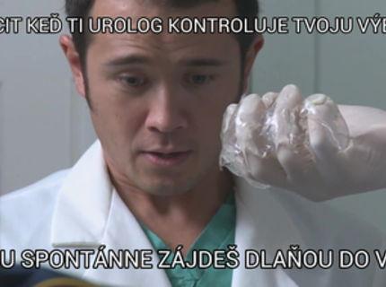 Vies co ti hrozi j urologa? :-P