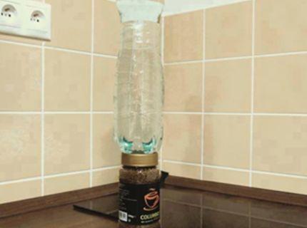 Syn postavil vodu na kávu :D :)
