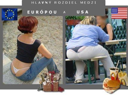 Porovnanie Ameriky a Slovenska :D :)