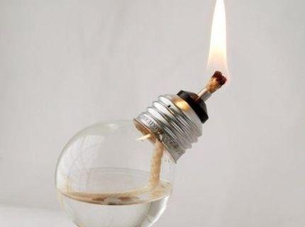 Svieti aj keď vyhodia elektriku :) :)