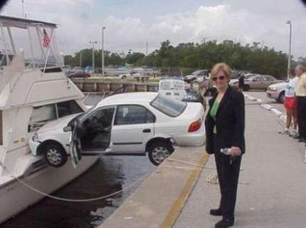 Nie každý vie parkovať