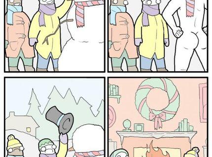 Prečo nestavat snehuliaka