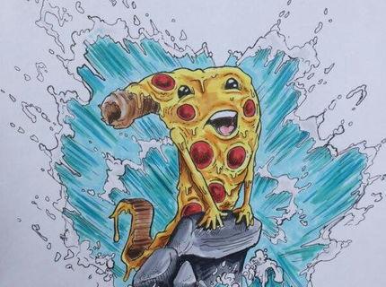 Milovníci pizze pozor! Toto by ste si mali dať zarámovať :D