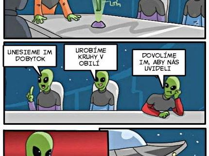 Ako by nám mimozenštania mali naznačiť že existujú:D