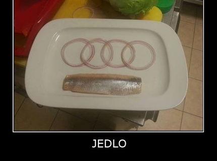 Toto jedia fanúšikovia AUDI :D
