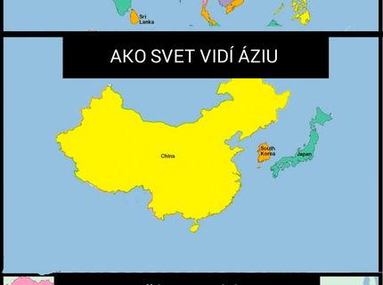 Viete kde je Ázia?:D A ako ju vnímate vy?