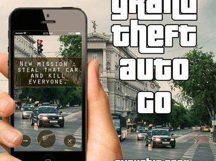GTA GO :D Ja odpadnem :D