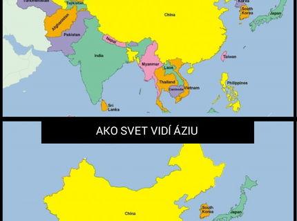 Ázia...ako ju vidím ja a ako svet :D