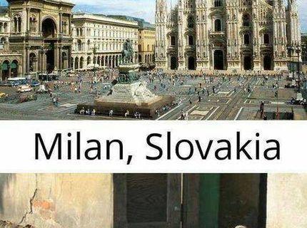 Milan Italy vs Milan zo Slovenska :D