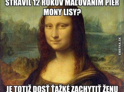 Vedeli ste, ze DaVinci kreslis Mona Lisu 12 rokov? Tu je dôvod prečo :)