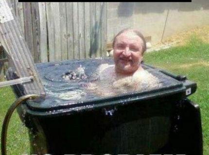 Ešte sú teplé dni :D Nápad na kúpanie :D
