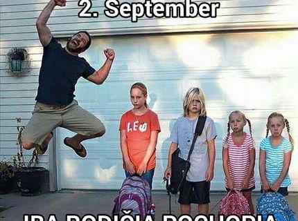 2. September..iba rodičia pochopia čo to znamená :D
