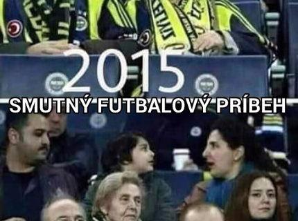 Smutný futbalový príbeh...