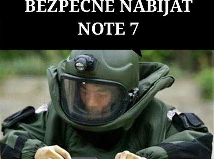 Trik: Ako bezpečne nabiť nový Note 7 :D