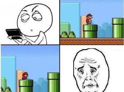 Super Mario prinášal aj smutne chvíle :D