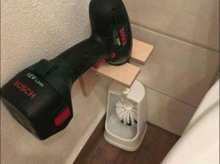 AK chceš mať poriadne čisto na záchode tak potom pozri na toto :D