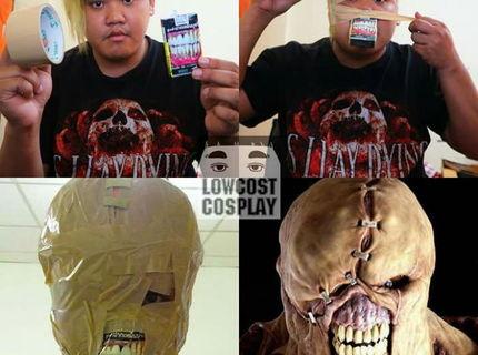 Chceš masku na dušičky?:D SUper lacný trik:D