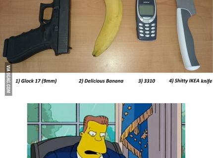 AKú zbraň by si si vybral ty na sebaobranu?:D
