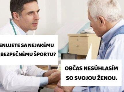 Športovanie je riziko, hlavne ak športujete s vašou starou :D