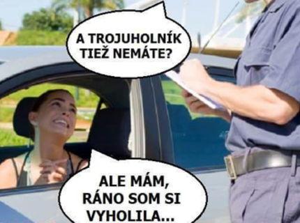 Policajt VS Šoférka :D