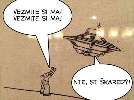 UFO: Vydali by ste sa dobrovoľne na kozmickú lod?:D