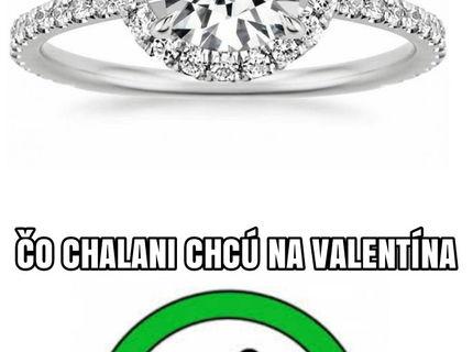 Čo chcú na valentína muži a čo dievčatá :D