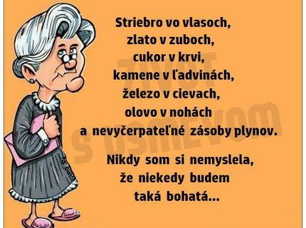 Slovenskí dôchodcovia sú naozaj bohatí :D