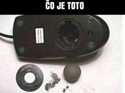 """Dnešné deti nepoznajú pojem """"guličková myš"""" :D"""