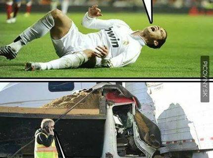 Futbalisti vs Skutočný chlap :D