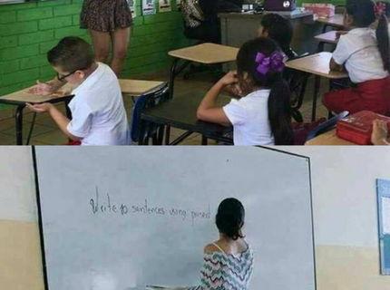 Chodili by ste do školy, ak by ste aj vy mali taketo pani učiteľky?:D