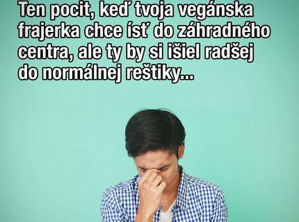 Chodíte s vegánom?