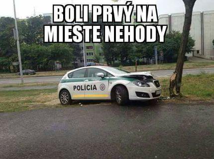 Rýchlosť policajnych zložiek v SR je neuprosna :D