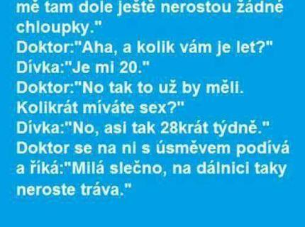 U gynekologa :D
