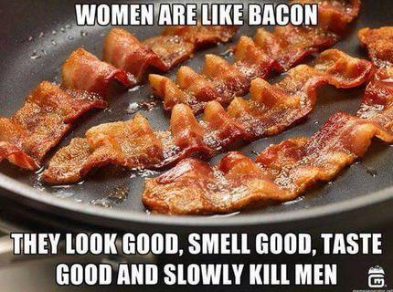 ženy sú ako slaninka... prečo?Tak si prečítaj :P
