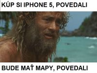 Iphone a mapy