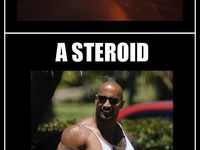 Asteroid vs Steroid :D
