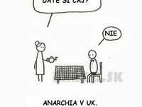Anarchia v UK. :D