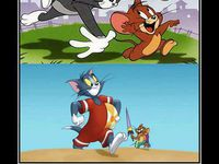 Exhibionisti Tom a Jerry :D