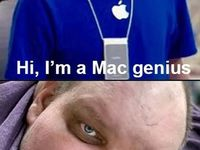 Mac genius vs. Mc genius :D