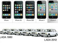 iPhone v Lada :D