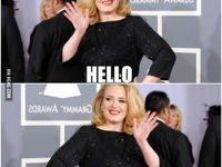 Hello by Adele :D